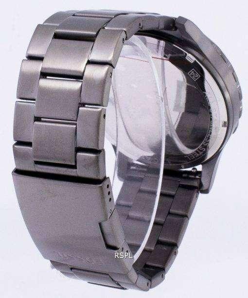 化石ネイト クロノグラフ グレー ダイヤルの煙 JR1437 メンズ腕時計