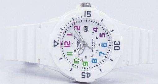 カシオ Enticer アナログ ホワイト ダイヤル LRW 200 H 7BVDF LRW 200 H 7BV レディース腕時計