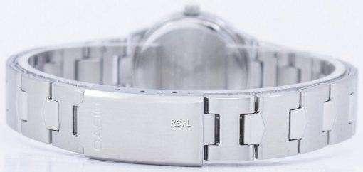 カシオ Enticer アナログ クオーツ ブルー ダイヤル LTP 1241 D 2ADF LTP-1241 D-2 a レディース腕時計