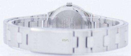 カシオ Enticer アナログ クオーツ ピンク ダイアル LTP 1241 D 4ADF LTP-1241 D-4 a レディース腕時計