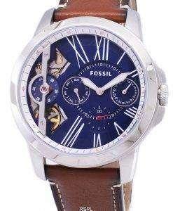 化石グラントねじれ水晶 ME1161 メンズ腕時計