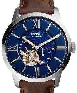 化石町民自動スケルトン ME3110 メンズ腕時計