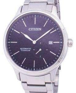 市民スーパー チタン自動 NJ0090 81E メンズ腕時計
