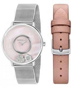 Morellato ヴィータ水晶ダイヤモンド アクセント R0153150509 レディース腕時計