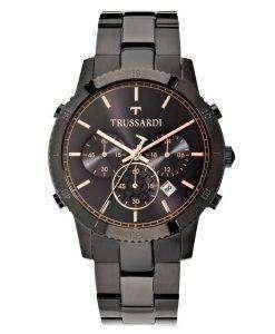 トラサルディ T スタイル クロノグラフ クォーツ R2473617001 メンズ腕時計