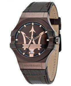 マセラティ ポテンザ アナログ クオーツ R8851108011 メンズ腕時計