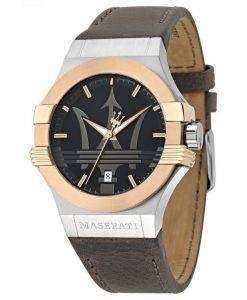 マセラティ ポテンザ アナログ クオーツ R8851108014 メンズ腕時計