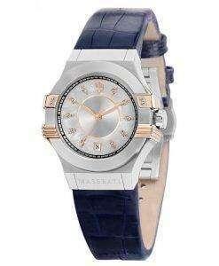 マセラティ ポテンザ水晶ダイヤモンド アクセント R8851108502 レディース腕時計