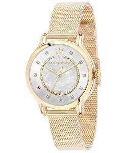 マセラティ刊行物に掲載水晶ダイヤモンド アクセント R8853118502 レディース腕時計