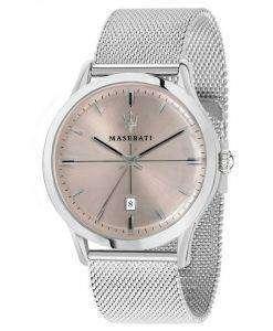 マセラティ Ricordo アナログ クオーツ R8853125004 メンズ腕時計