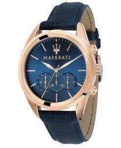 マセラティ Traguardo クロノグラフ クォーツ R8871612015 メンズ腕時計