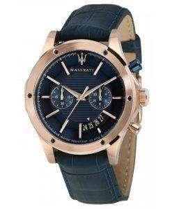 マセラティ日クロノグラフ クォーツ R8871627002 メンズ腕時計