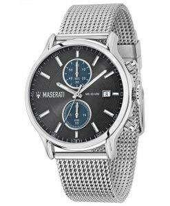 マセラティ刊行物に掲載クロノグラフ クォーツ R8873618003 メンズ腕時計