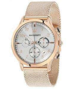 マセラティ Ricordo クロノグラフ クォーツ R8873625002 メンズ腕時計