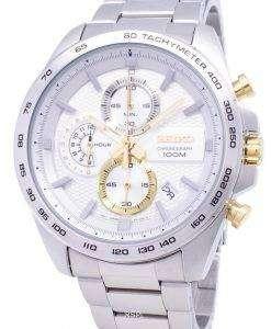 セイコー新スポーツ クロノグラフ クォーツ SSB285 SSB285P1 SSB285P メンズ腕時計