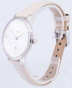 化石ジャクリーン クオーツ ホワイト ダイヤル ES3793 レディース腕時計