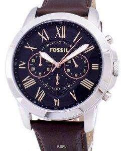 化石付与クロノグラフ FS4813 メンズ腕時計