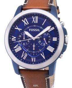 化石を与えるクオーツ クロノグラフ FS5151 メンズ腕時計