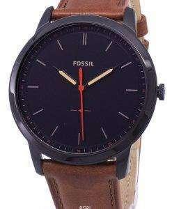 化石のシンプルな 3 H 石英 FS5305 メンズ腕時計