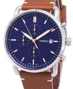 化石通勤クロノグラフ クォーツ FS5401 メンズ腕時計