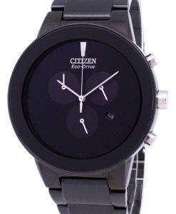 公理エコドライブ クロノグラフ AT2245 57E メンズ腕時計