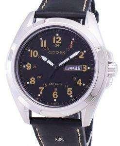 市民エコドライブ アナログ AW0050 07E メンズ腕時計