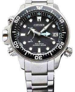 市民 - 85 e-BN2031 プロマスター エコ ・ ドライブ ダイバーズ 200 M パワー リザーブ メンズ腕時計