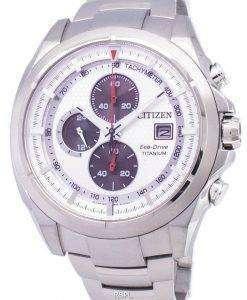 市民エコ ・ ドライブ クロノグラフ タキメーター パワー リザーブ CA0550 52 a メンズ腕時計