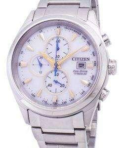 市民エコドライブ チタン クロノグラフ タキメーター CA0650 82B メンズ腕時計