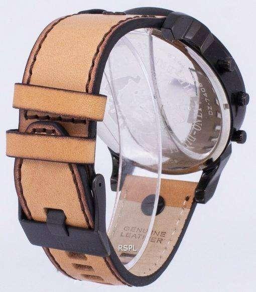ディーゼル Mr.Daddy 2.0「のみ勇敢な」クロノグラフ クォーツ DZ7406 メンズ腕時計