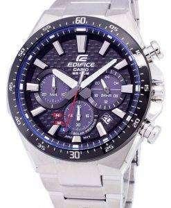 カシオ エディフィス ソーラー クロノグラフ EQ 800CDB 1AV EQS800CDB-1AV メンズ腕時計