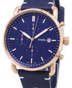 化石通勤クロノグラフ クォーツ FS5404 メンズ腕時計