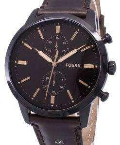 化石町民クロノグラフ クォーツ FS5437 メンズ腕時計