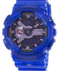 耐衝撃性カシオ G-ショック アナログ デジタル 200 M GA-110CR-2 a GA110CR-2 a メンズ腕時計