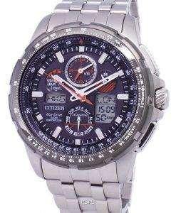 市民プロマスター スカイ エコ ・ ドライブ チタン 200 M JY8069 された 88E メンズ腕時計