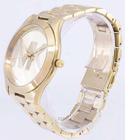 ミハエル Kors スリムな滑走路石英 MK3739 レディース腕時計