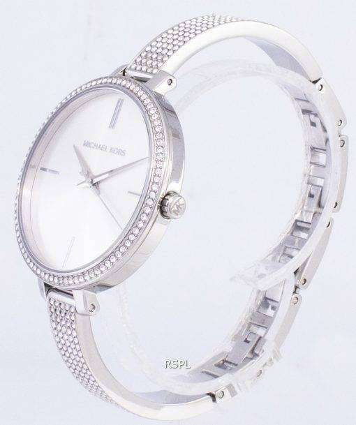 ミハエル Kors エミリア水晶ダイヤモンド アクセント MK3783 レディース腕時計