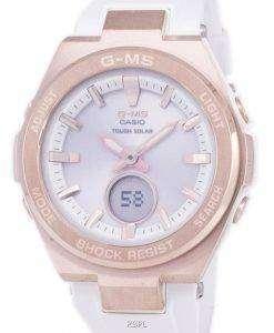 カシオ G-MS タフな太陽耐衝撃性アナログ デジタル MSG S200G 7A MSGS200G 7A レディース腕時計