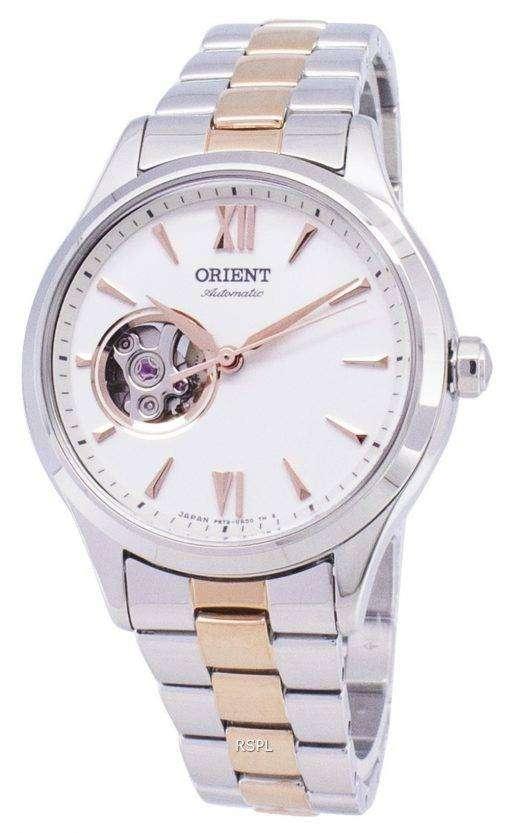 オリエント アナログ自動半スケルトン日本製 RA AG0020S00C レディース腕時計