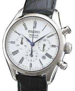 セイコー プレサージュ SARK013 クロノグラフ自動日本製メンズ腕時計