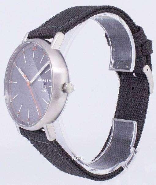 スカーゲン署名太陽リサイクル水晶 MK8619 メンズ腕時計