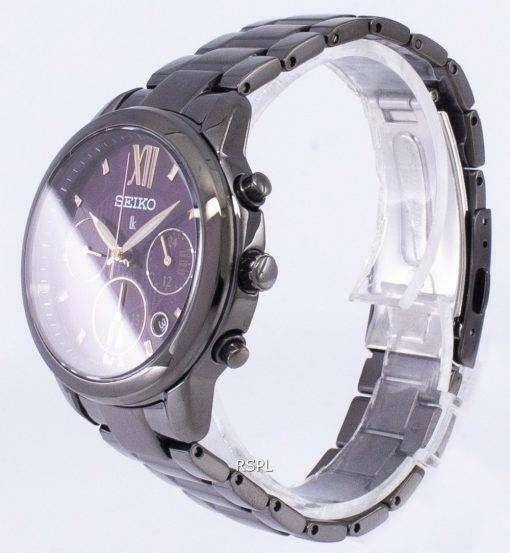 セイコー Lukia クロノグラフ クォーツ SRWZ86 SRWZ86P1 SRWZ86P レディース腕時計