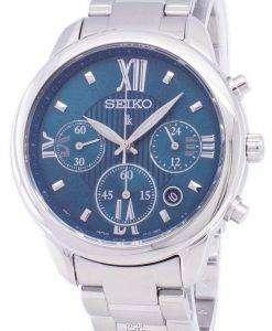 セイコー Lukia クロノグラフ クォーツ SRWZ93 SRWZ93P1 SRWZ93P レディース腕時計