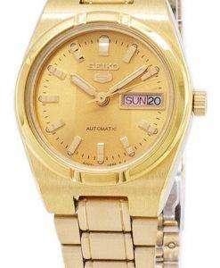 セイコー 5 アナログ自動 SYM600 SYM600K1 SYM600K レディース腕時計