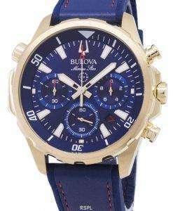 ブローバ海洋星 97B168 クロノグラフ クォーツ メンズ腕時計