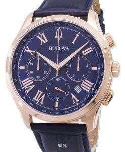 ブローバ クラシック 97B170 クロノグラフ クォーツ メンズ腕時計