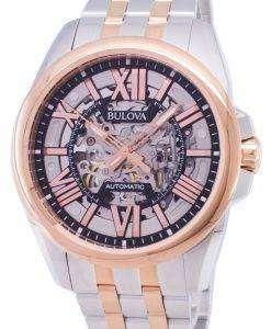 ブローバ クラシック 98A166 自動メンズ腕時計腕時計
