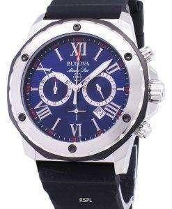 ブローバ海洋星 98B258 クロノグラフ クォーツ メンズ腕時計