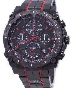ブローバ精密派の画家 98B313 300 M クロノグラフ クォーツ メンズ腕時計