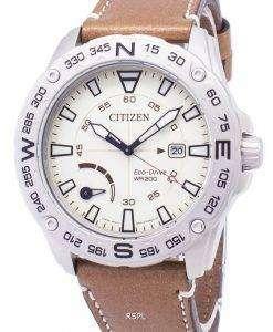市民エコドライブ AW7040 02A パワー リザーブ 200 M メンズ腕時計